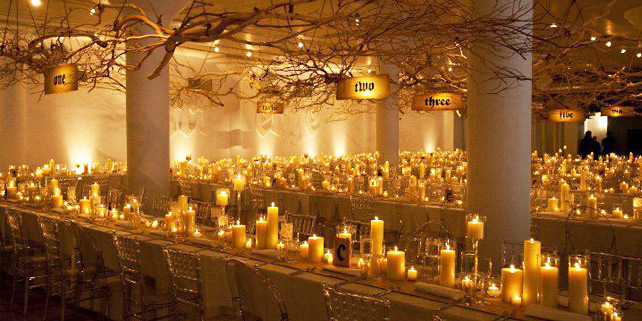 Weddings By Candle Light Upon An Occasion